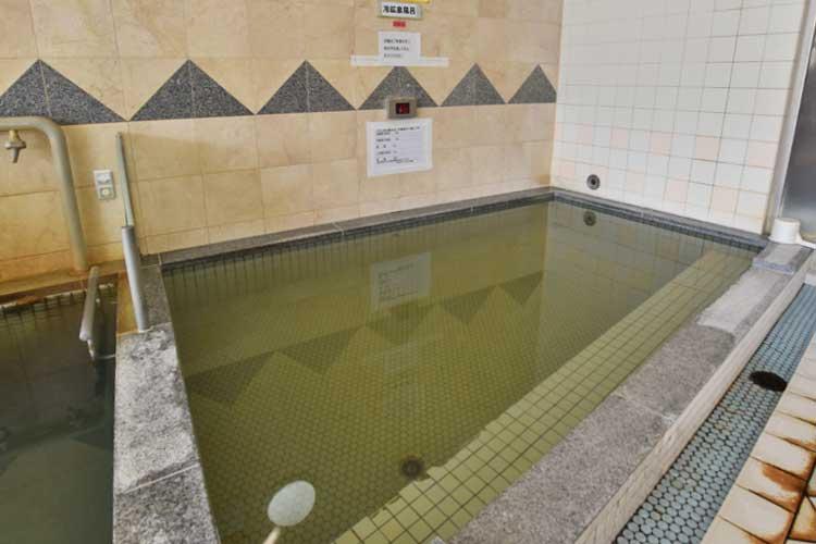水風呂 南アルプス釜無川温泉 むかわの湯